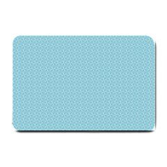 Blue Pattern Background Texture Small Doormat