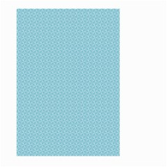 Blue Pattern Background Texture Large Garden Flag (two Sides)