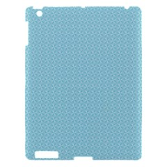 Blue Pattern Background Texture Apple Ipad 3/4 Hardshell Case