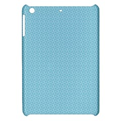 Blue Pattern Background Texture Apple Ipad Mini Hardshell Case by Nexatart