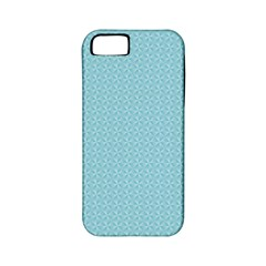 Blue Pattern Background Texture Apple Iphone 5 Classic Hardshell Case (pc+silicone)