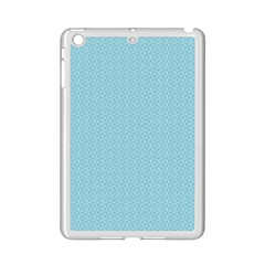 Blue Pattern Background Texture Ipad Mini 2 Enamel Coated Cases by Nexatart