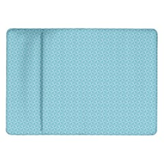Blue Pattern Background Texture Samsung Galaxy Tab 10 1  P7500 Flip Case by Nexatart