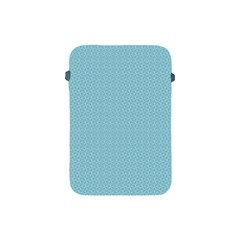 Blue Pattern Background Texture Apple Ipad Mini Protective Soft Cases by Nexatart