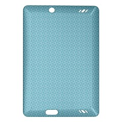 Blue Pattern Background Texture Amazon Kindle Fire Hd (2013) Hardshell Case
