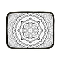 Mandala Pattern Floral Netbook Case (small)  by Nexatart