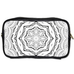 Mandala Pattern Floral Toiletries Bags
