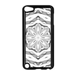 Mandala Pattern Floral Apple Ipod Touch 5 Case (black)