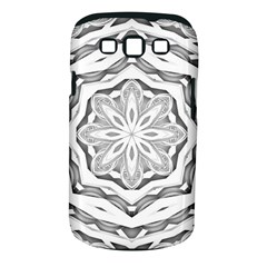 Mandala Pattern Floral Samsung Galaxy S Iii Classic Hardshell Case (pc+silicone)