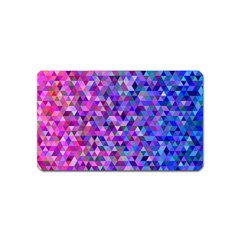 Triangle Tile Mosaic Pattern Magnet (name Card)