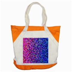 Triangle Tile Mosaic Pattern Accent Tote Bag