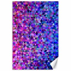 Triangle Tile Mosaic Pattern Canvas 24  X 36