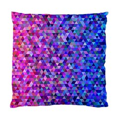 Triangle Tile Mosaic Pattern Standard Cushion Case (one Side)
