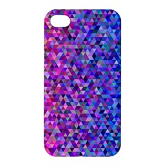 Triangle Tile Mosaic Pattern Apple Iphone 4/4s Premium Hardshell Case