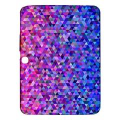 Triangle Tile Mosaic Pattern Samsung Galaxy Tab 3 (10 1 ) P5200 Hardshell Case  by Nexatart