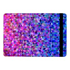 Triangle Tile Mosaic Pattern Samsung Galaxy Tab Pro 10 1  Flip Case