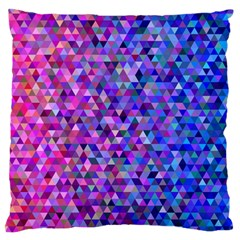 Triangle Tile Mosaic Pattern Standard Flano Cushion Case (one Side) by Nexatart