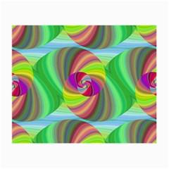 Seamless Pattern Twirl Spiral Small Glasses Cloth