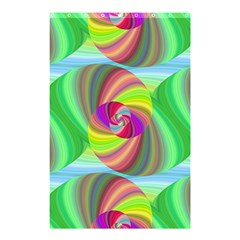 Seamless Pattern Twirl Spiral Shower Curtain 48  X 72  (small)