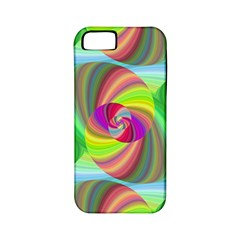 Seamless Pattern Twirl Spiral Apple Iphone 5 Classic Hardshell Case (pc+silicone)