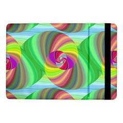 Seamless Pattern Twirl Spiral Samsung Galaxy Tab Pro 10 1  Flip Case by Nexatart