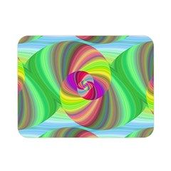 Seamless Pattern Twirl Spiral Double Sided Flano Blanket (mini)