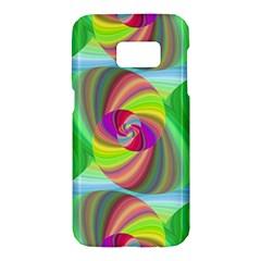 Seamless Pattern Twirl Spiral Samsung Galaxy S7 Hardshell Case