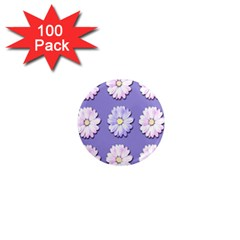 Daisy Flowers Wild Flowers Bloom 1  Mini Magnets (100 Pack)  by Nexatart