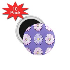 Daisy Flowers Wild Flowers Bloom 1 75  Magnets (10 Pack)