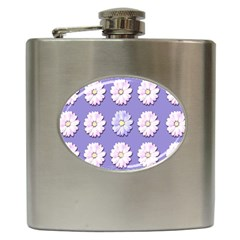 Daisy Flowers Wild Flowers Bloom Hip Flask (6 Oz)