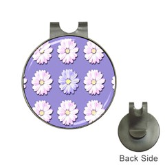 Daisy Flowers Wild Flowers Bloom Hat Clips With Golf Markers