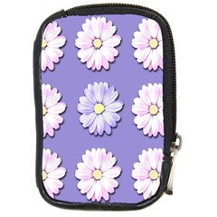 Daisy Flowers Wild Flowers Bloom Compact Camera Cases by Nexatart