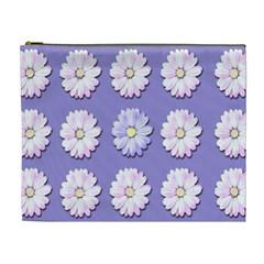 Daisy Flowers Wild Flowers Bloom Cosmetic Bag (xl)