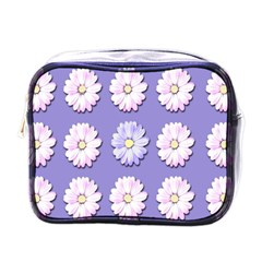 Daisy Flowers Wild Flowers Bloom Mini Toiletries Bags by Nexatart
