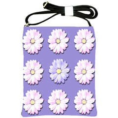 Daisy Flowers Wild Flowers Bloom Shoulder Sling Bags by Nexatart