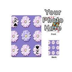 Daisy Flowers Wild Flowers Bloom Playing Cards 54 (mini)  by Nexatart