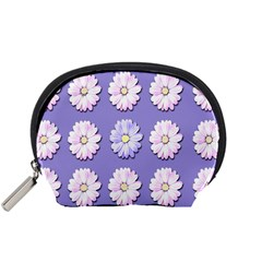 Daisy Flowers Wild Flowers Bloom Accessory Pouches (small)  by Nexatart