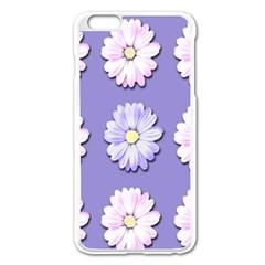 Daisy Flowers Wild Flowers Bloom Apple Iphone 6 Plus/6s Plus Enamel White Case by Nexatart