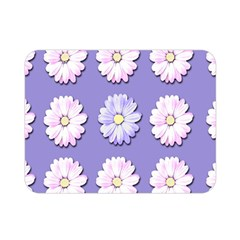 Daisy Flowers Wild Flowers Bloom Double Sided Flano Blanket (mini)