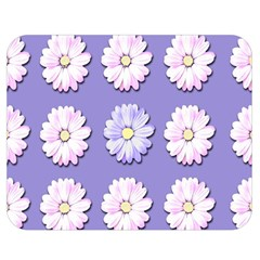 Daisy Flowers Wild Flowers Bloom Double Sided Flano Blanket (medium)  by Nexatart