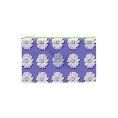 Daisy Flowers Wild Flowers Bloom Cosmetic Bag (xs)
