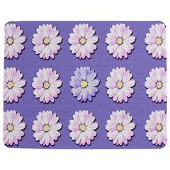 Daisy Flowers Wild Flowers Bloom Jigsaw Puzzle Photo Stand (rectangular) by Nexatart