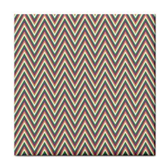 Chevron Retro Pattern Vintage Face Towel