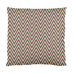 Chevron Retro Pattern Vintage Standard Cushion Case (one Side)