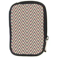 Chevron Retro Pattern Vintage Compact Camera Cases