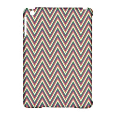 Chevron Retro Pattern Vintage Apple Ipad Mini Hardshell Case (compatible With Smart Cover)