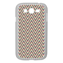 Chevron Retro Pattern Vintage Samsung Galaxy Grand Duos I9082 Case (white)