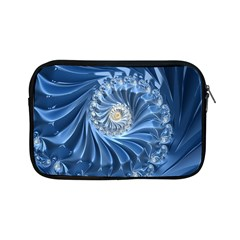 Blue Fractal Abstract Spiral Apple Ipad Mini Zipper Cases