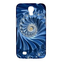 Blue Fractal Abstract Spiral Samsung Galaxy Mega 6 3  I9200 Hardshell Case by Nexatart