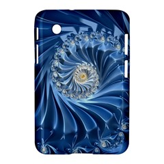 Blue Fractal Abstract Spiral Samsung Galaxy Tab 2 (7 ) P3100 Hardshell Case
